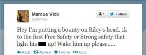 Marcus Vicks tweets